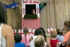 Barnoldswick Beach: Punch & Judy Show