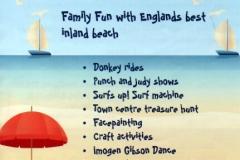 Barnoldswick Beach: Flyer (front)
