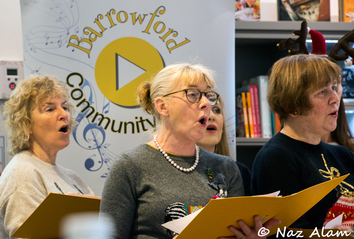 Barrowford Community Choir at Booths (Barrowford)