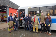 Charity Car Wash at Nelson Fire Station