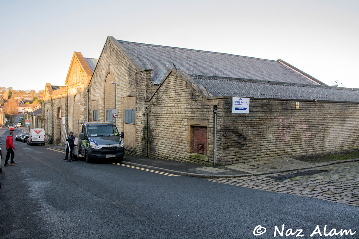 Colne & District Co-operative Society: Stanley Street Bakery Building - Front (Dec 2019)