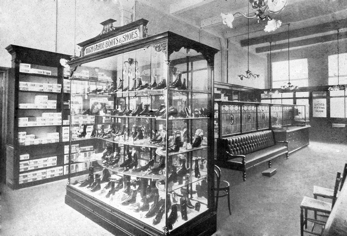 Colne & District Co-Op - Norway House: Footwear Dept.