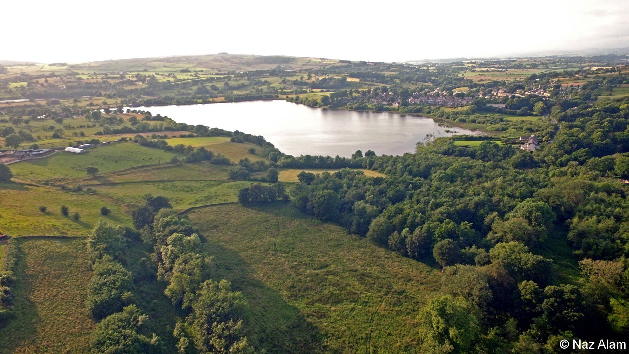 Lower Foulridge Reservoir area