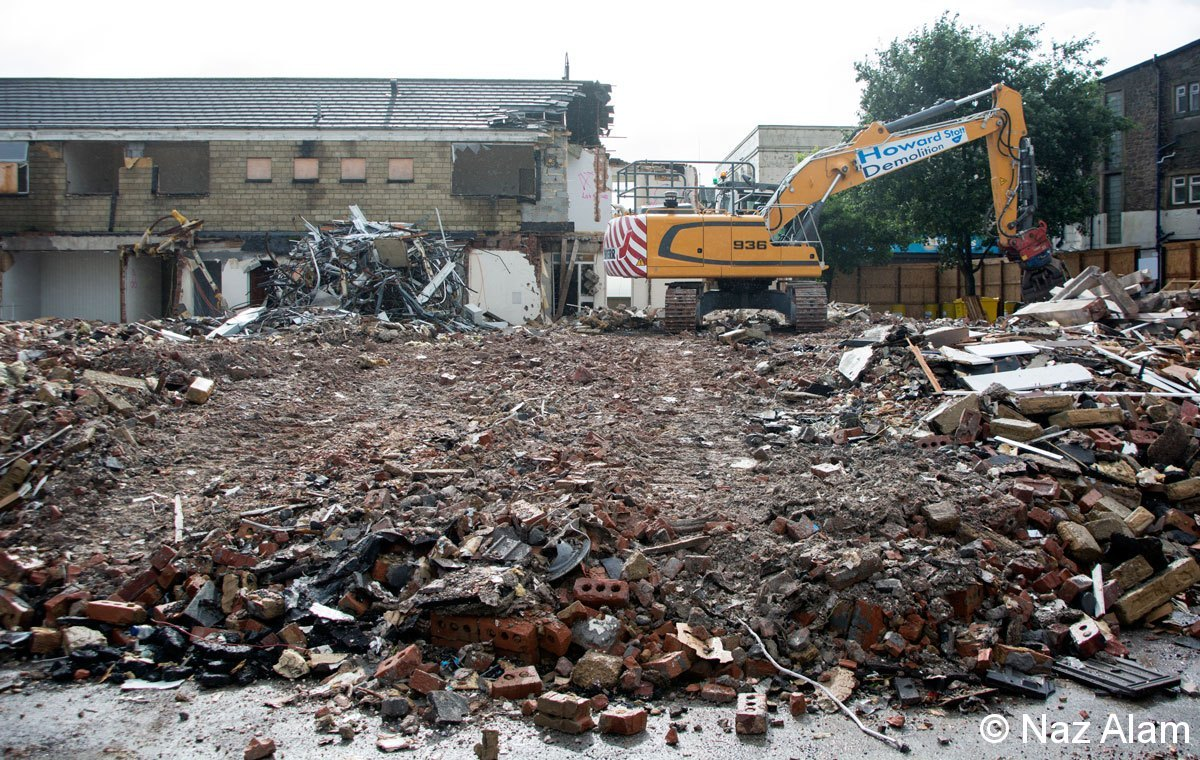 Demolition of Colne Health Centre