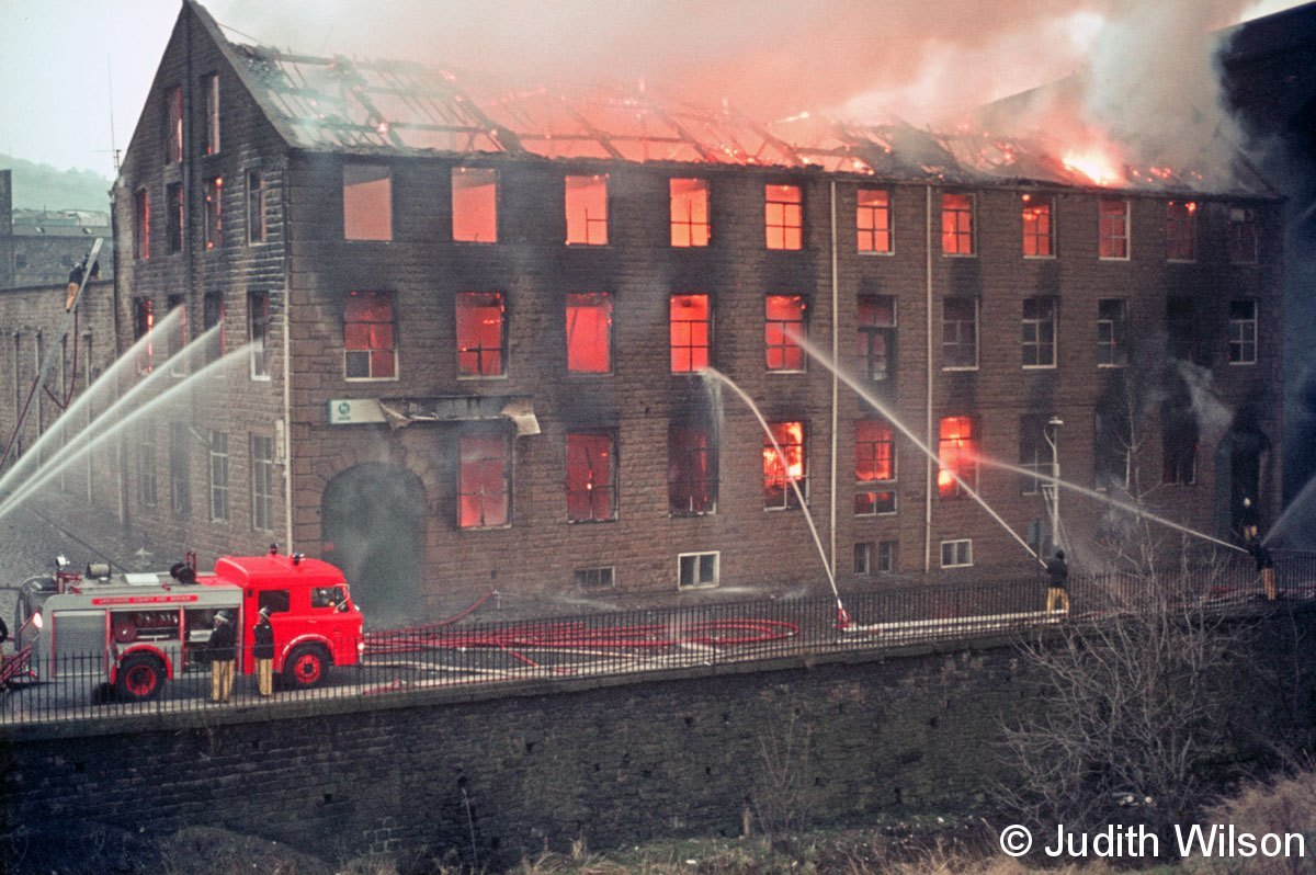 Viaduct Mill Fire