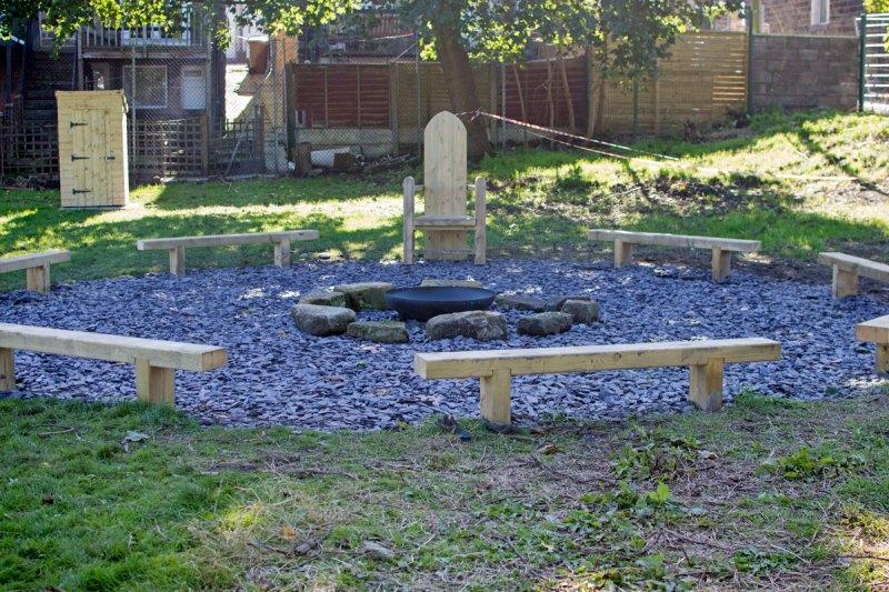 Park Primary - new Garden area