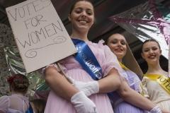 Colne Gala: Suffragettes