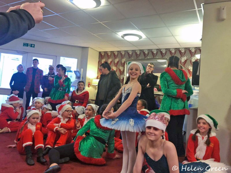 Helen Green Dance Academy - Performing at Care Homes 2019