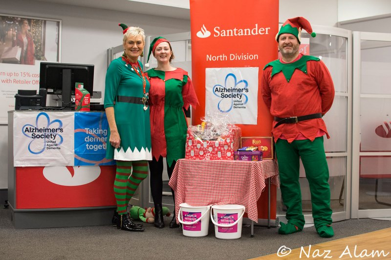 Santander Colne - whilst waiting for the rest of the staff.
