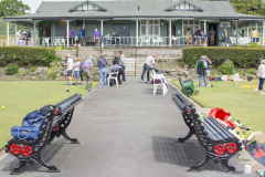 Pavilion Cafe and the Bowling Greens
