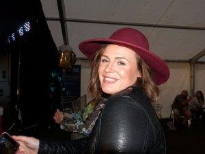 Enjoying the festival: Nicola
